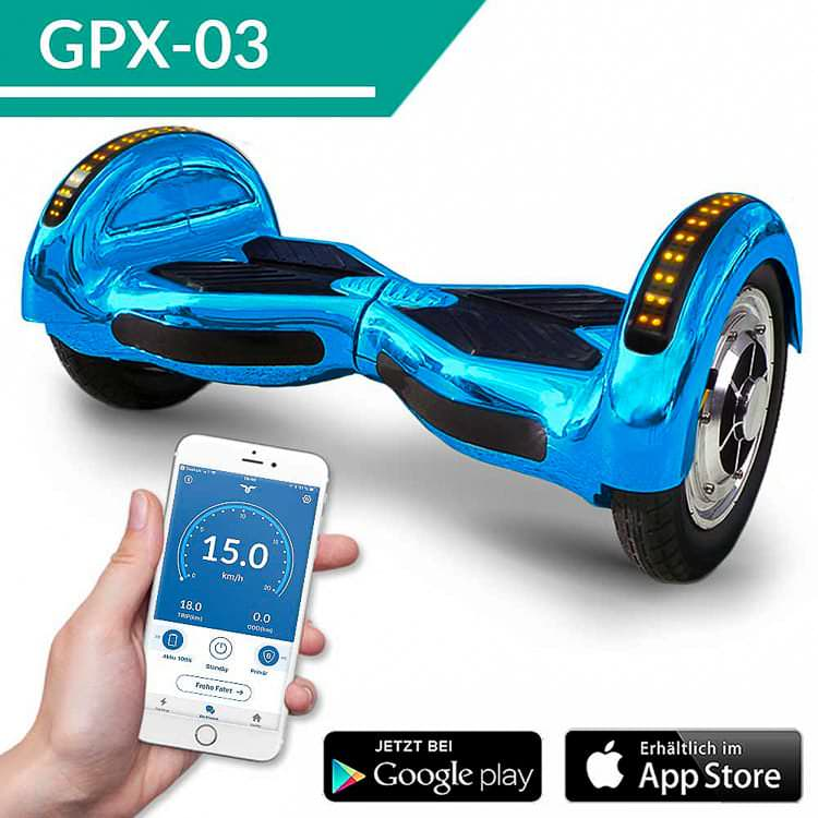10 smartway hoverboard app steuerung bluetooth 800 watt ab 249. Black Bedroom Furniture Sets. Home Design Ideas