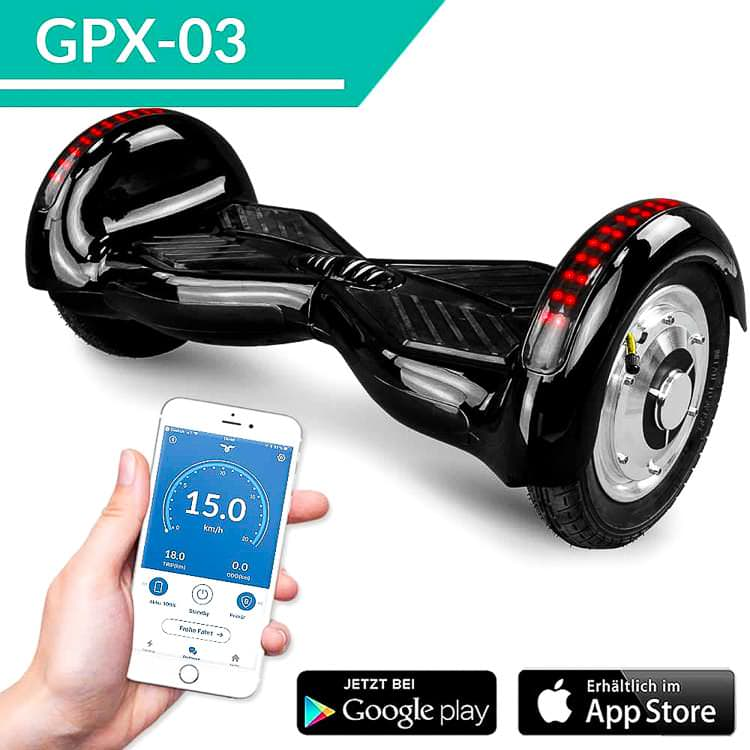 10 smartway hoverboard app steuerung bluetooth 800. Black Bedroom Furniture Sets. Home Design Ideas
