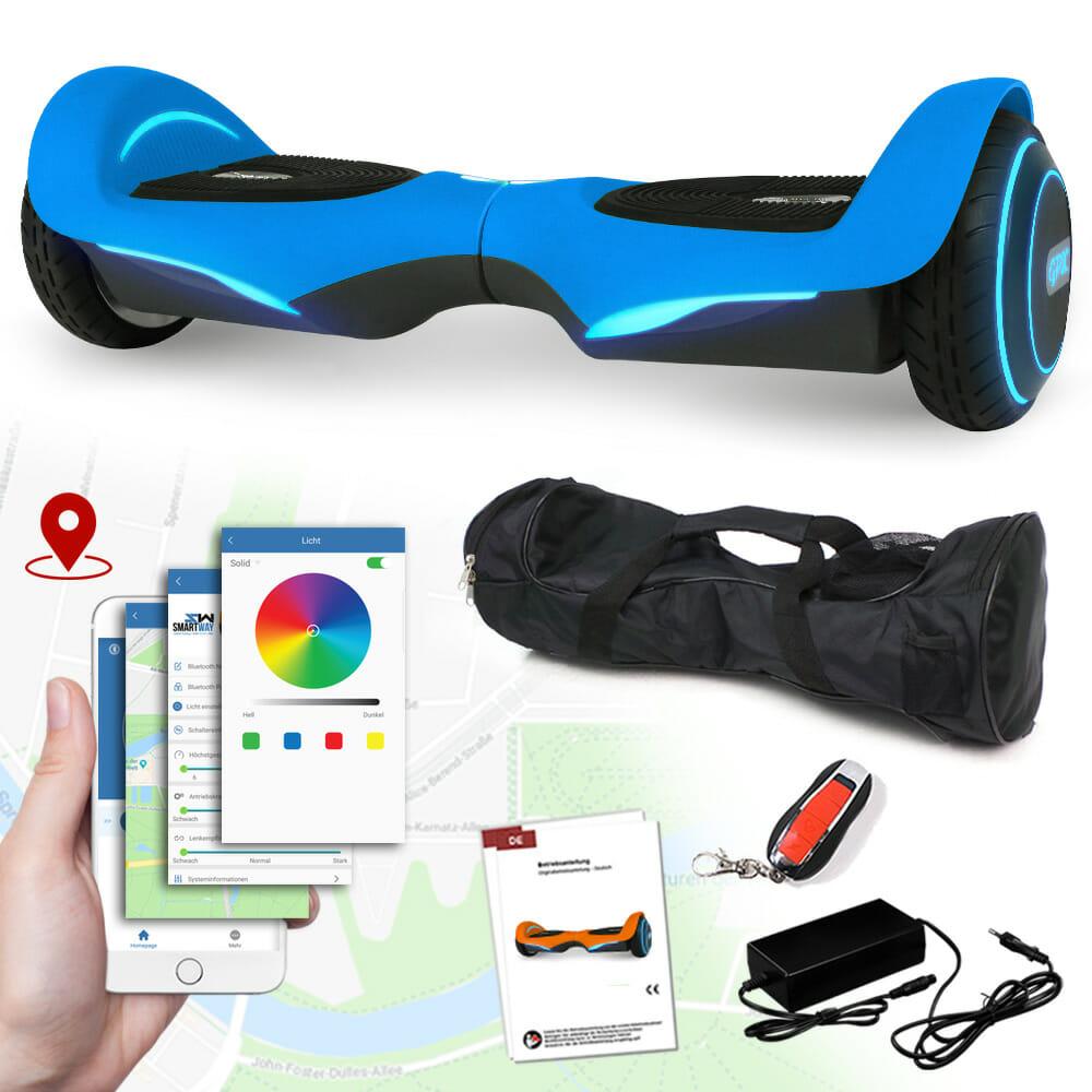 hoverboard gpx vision 800 watt mit app usb2 0 bt4 0. Black Bedroom Furniture Sets. Home Design Ideas