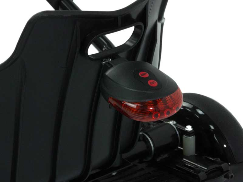 LED-Rücklicht inkl. Bodenlaser